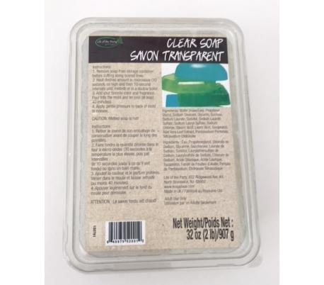 סבון גליסרן שקוף להכנת סבונים