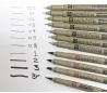 עטים טכנים רפידוגרף פיגמה  SAKURA במבחר