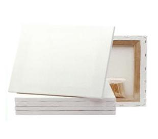 מארז 10 יח' קנבס לציור על מסגרת עץ 60*40 סמ
