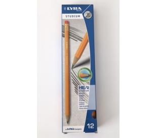 מארז 12 עפרונות ליירה HB2