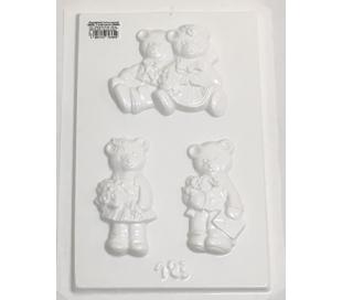 תבנית גבס ליצירה - דובים