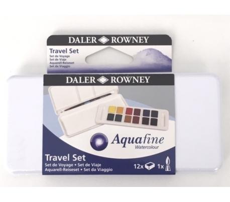 סט צבעי מים לנסיעה 12 גוונים דאלר ראוני