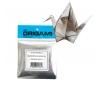 נייר אוריגמי מיני 100 דף מנייר כסף מבריק