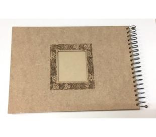 אלבום עץ ספירלה 35*25 עיטור לייזר