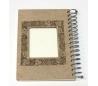 אלבום עץ ספירלה  A5 עם עיטור לייזר