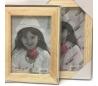 מסגרת תמונה עם זכוכית ב 3 גדלים