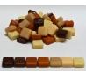 אבני פסיפס ספרדי קטן 250 גרם גווני חום