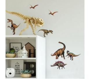 מדבקות קיר זמן הדינוזאורים