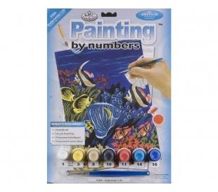 ערכת ציור לילדים - דגי נוי