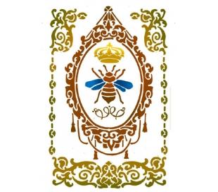 """שבלונות גדולות -  מלכת הדבורים 30*21 ס""""מ"""
