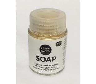 צבע נצנצים לסבון -  זהב