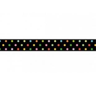 וואשי טייפ סטמפריה רוחב 2 סמ - נקודות צבעוניות