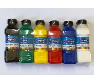 סט צבעי גואש צבעי בסיס - 840 גר
