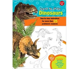 ספר ללימוד דינוזאורים צעד אחר צעד