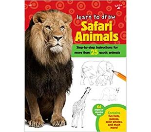 ספר ללימוד חיות ספארי צעד אחר צעד