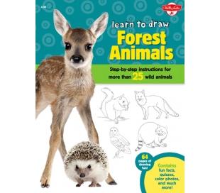 ספר ללימוד חיות יער צעד אחר צעד