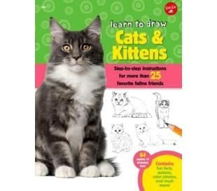 ספר ללימוד חתולים וגורים צעד אחר צעד