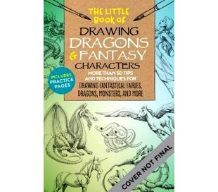 ספר לציורים של דרקונים ומפלצות