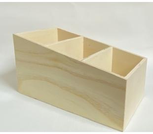 קופסאת שלטים מעץ