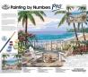 ערכת ציור במספרים פרו ענקית רוייאל - מרפסת לים