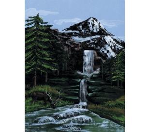 ערכת ציור לפי מספרים - מפל בהר