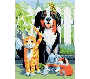 ערכת ציור לילדים - חיות מחמד