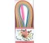 מארז נייר קווילינג עבה צבעוני כולל מכשיר