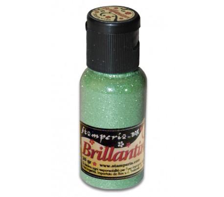 אבקת נצנצים בגוון ירוק בהיר
