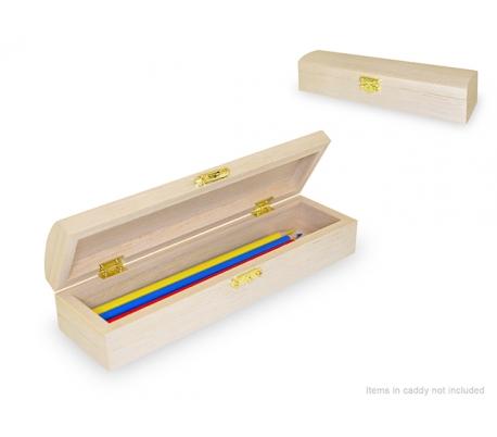 קופסת עץ קלמר לעפרונות