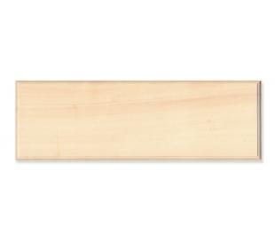 שלט עץ - מלבן ארוך 10*29 סמ