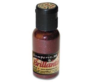 אבקת נצנצים בגוון אדום מבריק