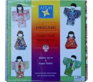 אוריגמי קיט להכנת בובות יפניות