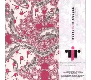 אוריגמי הדפס רישומי אומנות עדינה