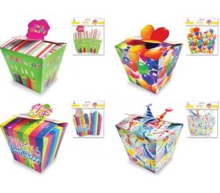 קופסאות מתנות לימי הולדת - 16 יח