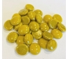 אבני זכוכית נגצים אטומים קטנים צהוב חרדל 200 גרם