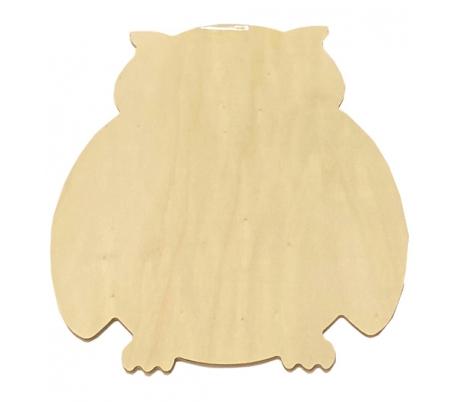דמויות עץ גדולות ליצירה - ינשוף