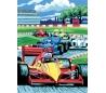 ערכת ציור לילדים - מירוץ מכוניות