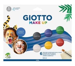 סט טבליות לאיפור פנים לפורים ג'יוטו - גווני יסוד