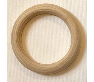 טבעת עץ למקרמה