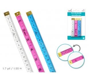 מארז 3 סרט מדידה צבעוני