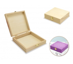 קופסאת עץ לתכשיטים ואיחסון