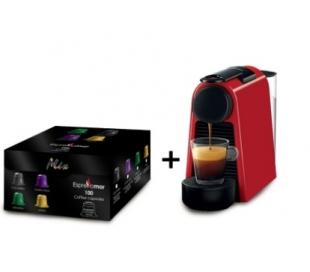 מכונת נספרסו + 100 קפסולות קפה אספרסו מור
