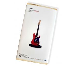 ערכת יצירה מעץ להרכבה - גיטרה חשמלית