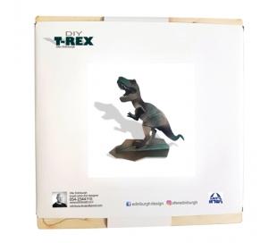 ערכת יצירה מעץ להרכבה - טירקס T-REX