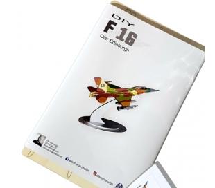 ערכת יצירה מעץ להרכבה - מטוס F-16