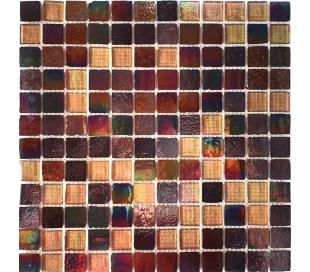 פסיפס זכוכית מחליף צבעים 2.5*2.5 סמ