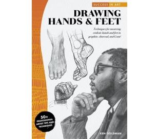 ספר לציור מקצועי של ידיים ורגלים