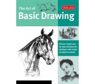 ספר טכניקות ציור בסיסיות בעפרונות