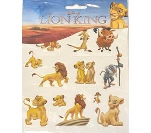 מדבקות ילדים - מלך האריות