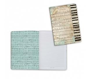 יומן מעוצב A5 - פסנתר